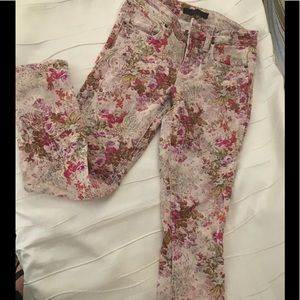 Genetic Embroidered floral jean